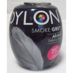 Dylon Machine Dye Pod Fabric Clothes All in One - Smoke Grey 350g