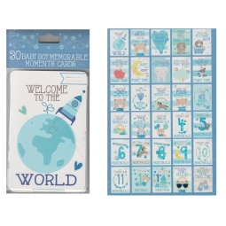 Baby Memorable Cards Boy