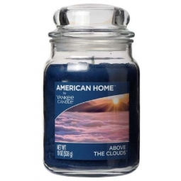 American Home Large Scented Yankee Candle 19oz 538g Blue Above The Clouds
