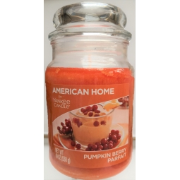 Yankee Candle Pumpkin Berry Parfait