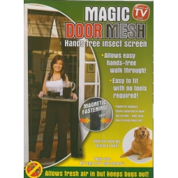 Magic Door Mesh Curtain