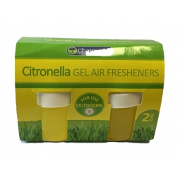 Chatsworth Citronella Gel Air Fresheners Outdoor Use Pest Control Bug Repellent