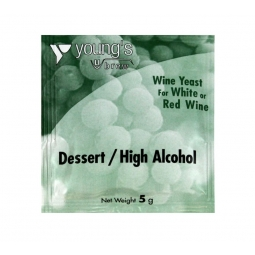 Young's Home Brew Dessert High Alcohol Red & White Wine Yeast Sachet 5g