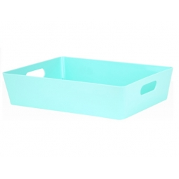 Duckegg Wham Plastic Large Rectangle Studio Handy Storage Basket 26cm x 35cm 6L