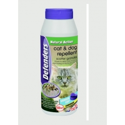 Defenders Natural Active Cat & Dog Fouling Repellent Scatter Granules 450g 150m2