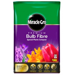 Miracle Gro Premium Bulb Fibre Potting Mix Compost With Vital Minerals 10L Bag