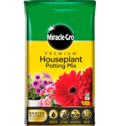 Miracle Gro Premium Houseplant Potting Mix Compost With Vital Minerals 10L Bag