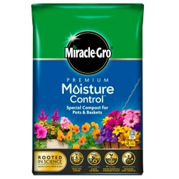 Miracle Gro Premium Moisture Control Potting Compost With Vital Minerals 10L