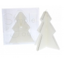 2 Prices Tree Shaped Candles White