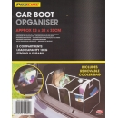 Proline 3 Compartment Universal Car Boot Organiser Tidy Bag With Food Cool Bag